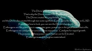 -World on Ayahuasca- God loves Entheogens